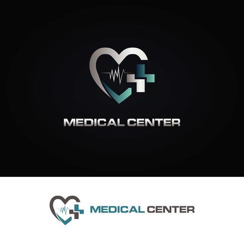 Logo medico del corazon