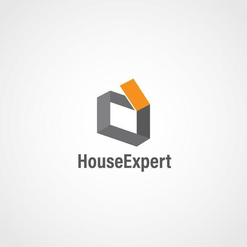 Eenvoudig huislogo