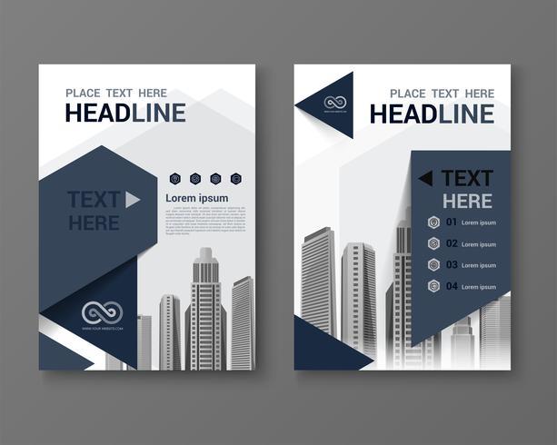 Sjabloon vector design Business. vector illustratie sjabloon in A4-formaat