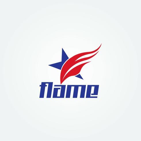 Logo della stella di fuoco
