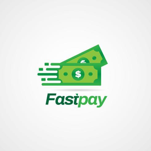Billets en dollars rapides vecteur