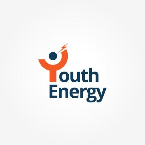 Ungdom med Lightning Bolt-logotyp