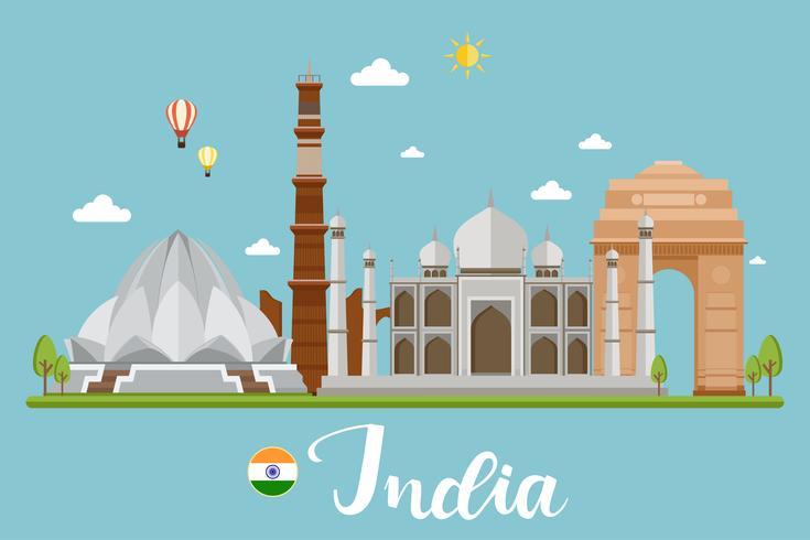 India reizen landschap