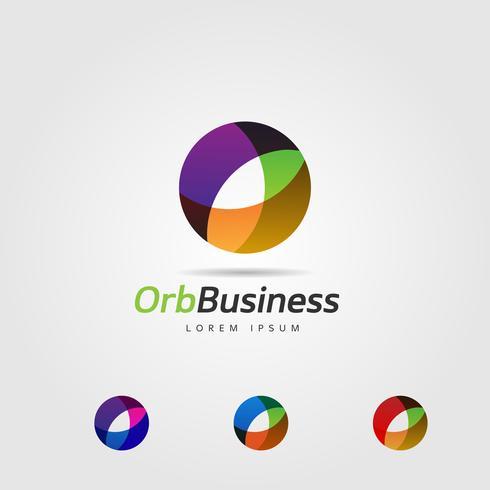 Logo colorato globo