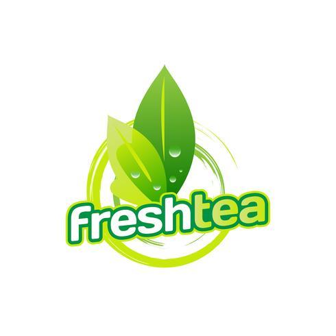 Green Tea Leaves Logo Download Free Vectors Clipart Graphics Vector Art