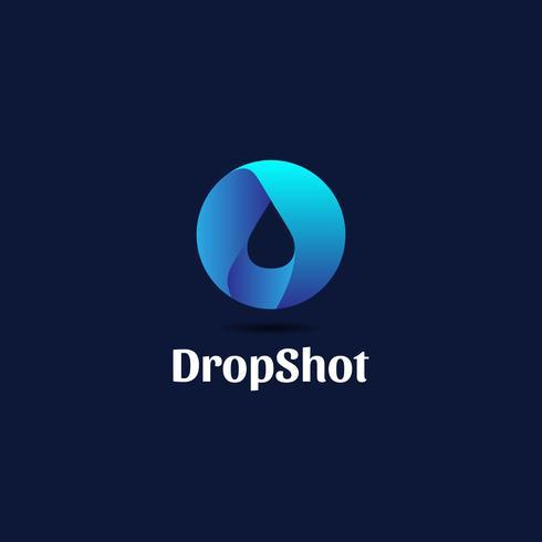 Logo Drop moderne