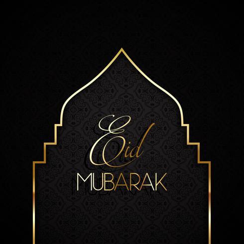 Stijlvolle Eid Mubarak-achtergrond 0606