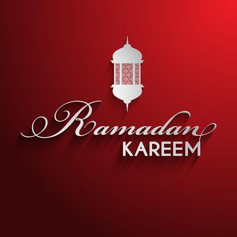 Dekorativ ramadan bakgrund