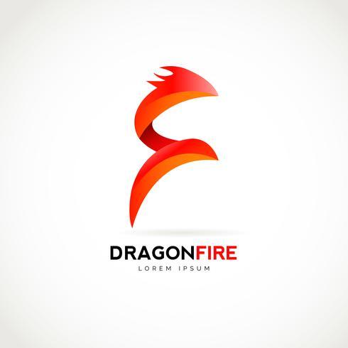 Dragon Fire-logotypen