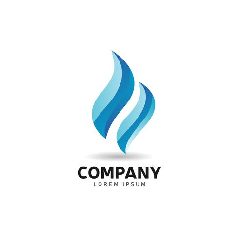 Blue Flame-logotypen