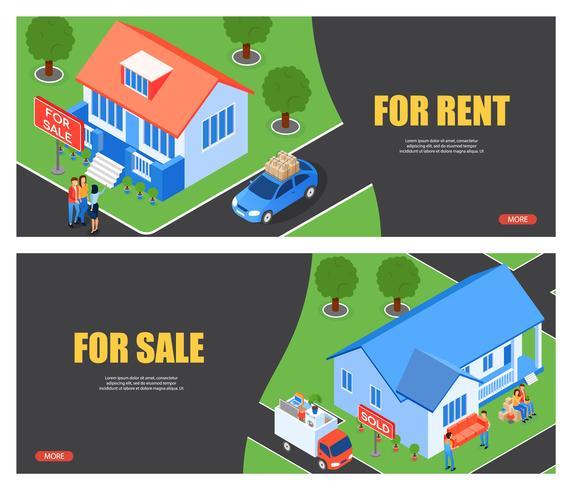 Te huur en te koop huis
