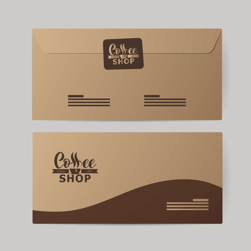 Företagsidentitet för kaffebranschen.