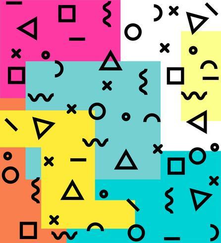 memphis background pattern