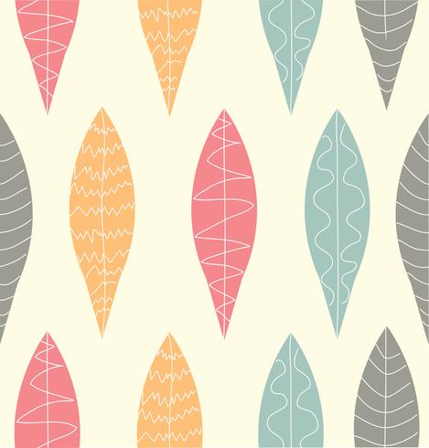 Vector leafl pattern
