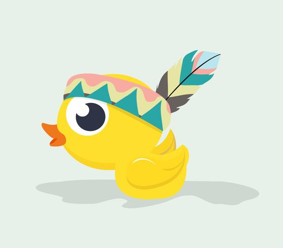 Cute Duck Tribal