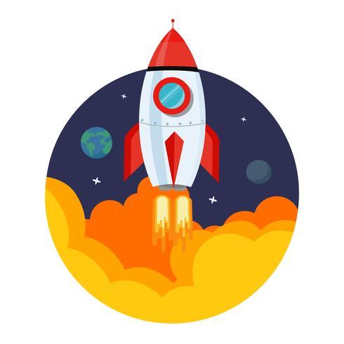 Vecteur de lancement de fusée