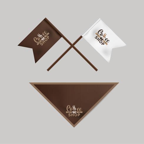 Identité visuelle pour l'industrie du café.