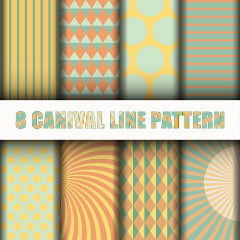 8 fond de ligne de carnaval