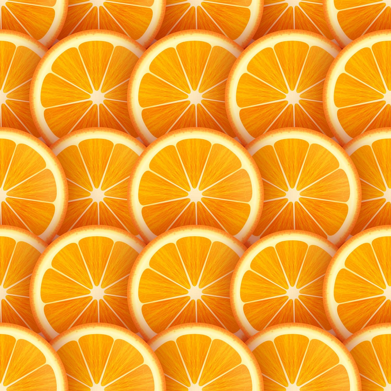 Orange Slices Vector Background