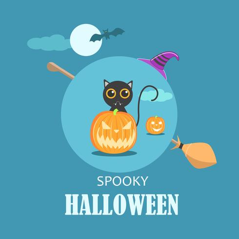 Spooky Halloween Holiday Poster