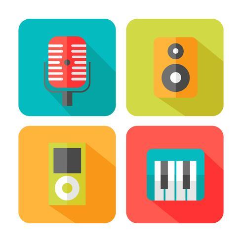 Sound Musik Icons