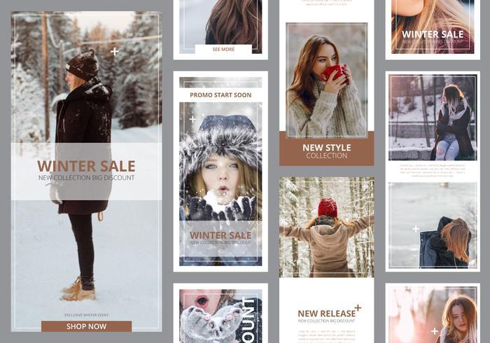 Fashion Instagram Story Template Prêt à utiliser