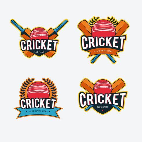 Cricket-Logo-Vektor