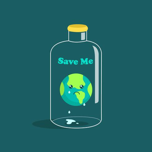 Cartel de Conciencia del Día Mundial del Medio Ambiente