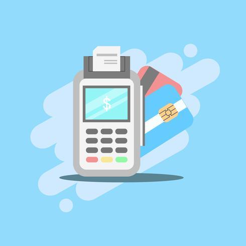 Paiement POS Machine avec cartes de débit