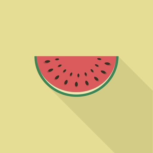 Watermeloen slice, watermeloen pictogram