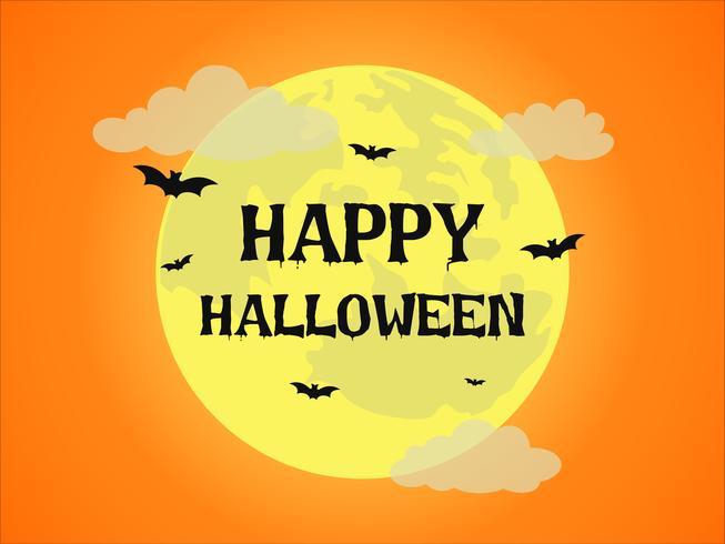 Halloween pleine lune