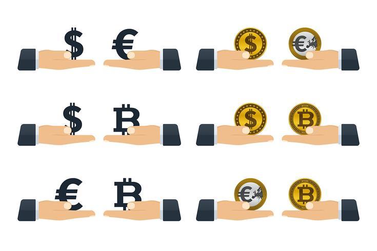 Konzepte zum Umtausch von Währungen