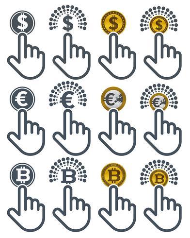 Forefingers en cliquant sur les devises