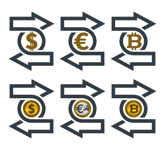 Change icons with currencies