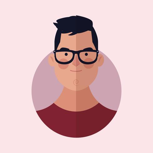 desenho de rosto de homem