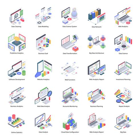 Data Analytics Icons Pack
