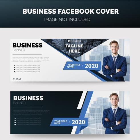 Banner de negocios vector