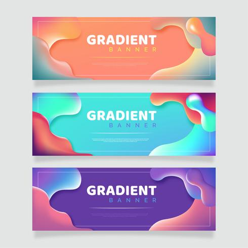 Abstract Fluid Banners Pack