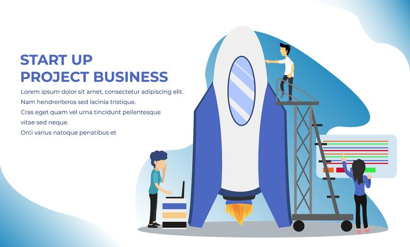 Startup your project Landing Page