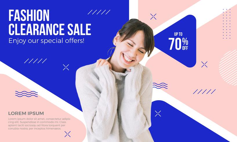 Clearance Sale Banner Design