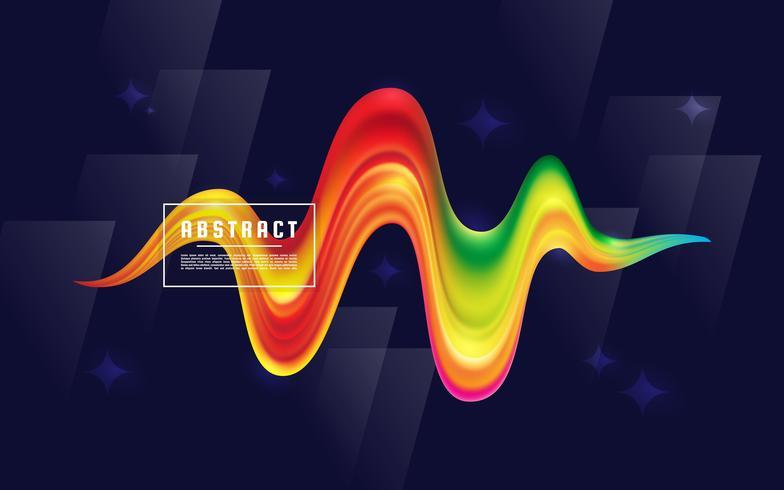 Wave Flow Background