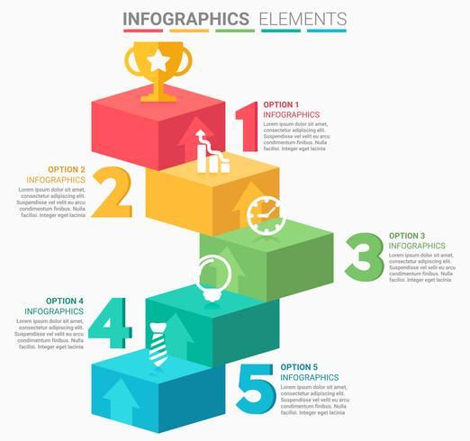 INFOGRAPHICS Ontwerp van bedrijfselementen vector