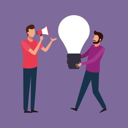 teamwork kreativ design vektor