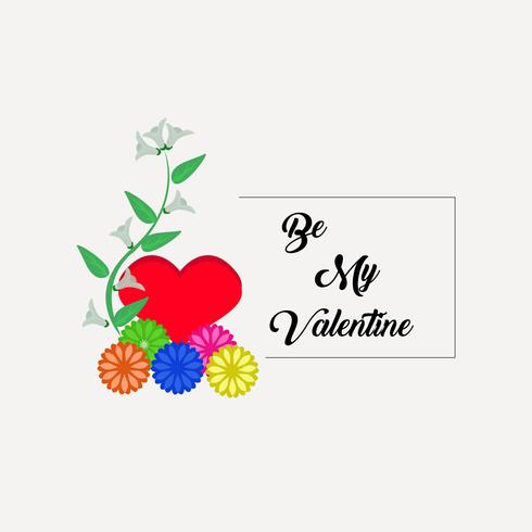Valentines Day Special frame vector Artwork