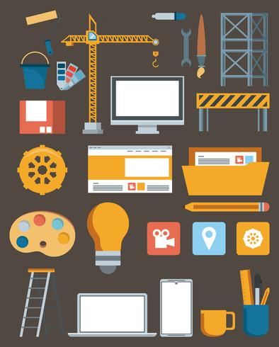 technologie onderhoud ondersteuning website constructie
