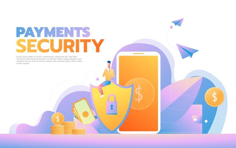 Cyber Security Concept  vector