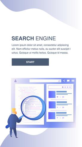 Search Engine Website Template