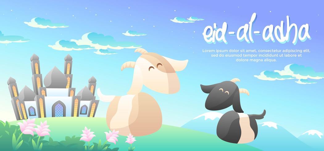 Eid Al Adha Auf Dem Berg