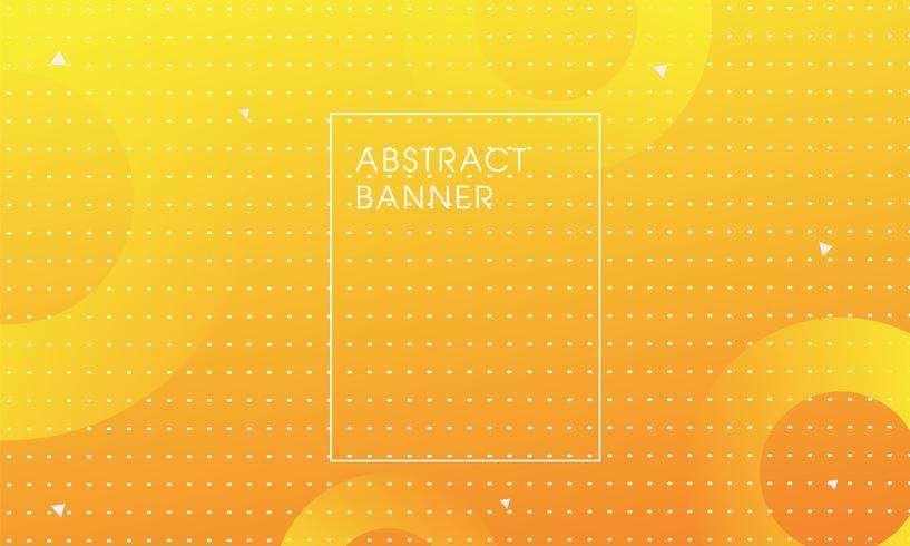 Yellow color background art vector.