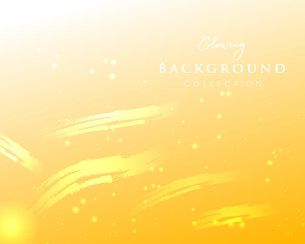 colorful blurred  glowing backgrounds vector